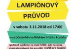 Lampionový průvod 3.11.2018